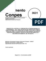 Conpes 3631 Recuperacion Ambiental Rio Bogota