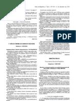 Directivas e instruções genéricas em matéria de execução da lei