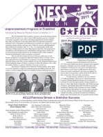 Fairness April/May Newsletter
