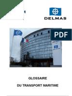Glossaire Transport Maritime