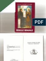 (Cuviosul Pahomie Cel Mare) Regulile Monahale