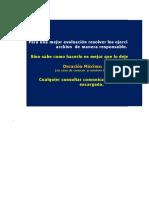 Evaluacion Excel 2007