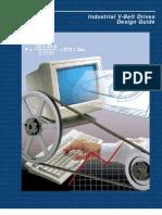 Manual diseño Correas en V