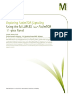 Exploring Akt/mTOR Signaling Using the MILLIPLEX® MAP Akt/mTOR 11-plex Panel