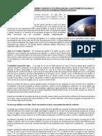 CAUSAS Y RELACIONES  DEL CAMBIO CLIMÁTICO Y EL PROCESO DEL CALENTAMIENTO GLOBAL Y LAS RELACIONES CON LOS ACUERDOS INTERNACIONALES