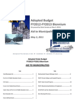 CCM FY2012 Adopted Budget Chart Book