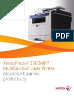 Phaser 3300 MFP Broch
