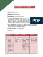 Planificación unidad didactica ejercicio fisico y salud