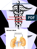 Adrenal Gland & Steroid therapy