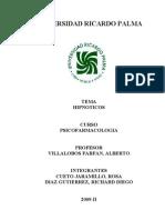 monografia avance HIPNOTICOS (1)