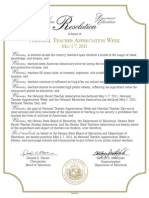 Teacher App Proclamation