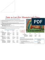 Sew a Lei DOE Poster 2011.1
