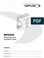 Opus WCU330 Installation Guide 1