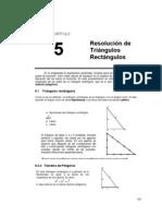 Resolucion de Triangulos Rectangulos