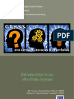ePortfolios and 21st Century Literacies in the Trade Technical High School