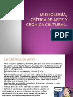 Museología, crítica de arte y reseña crítica