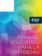 Manual de Educación para la Diversidad Sexual
