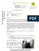 ECO Living Programme @ Lor Lew Lian Audit 1 (Energy) Report