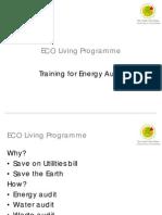 ECO Living Programme @ Lor Lew Lian Audit 1 (Energy) Training Slides