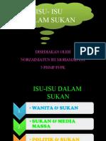 P16 - Wanita, Media Massa & Politik Dalam Sukan Zainiatun