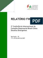 Relatório Final - Desafios Emergentes