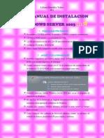 Manual de Instalacion de Windows Server 2003