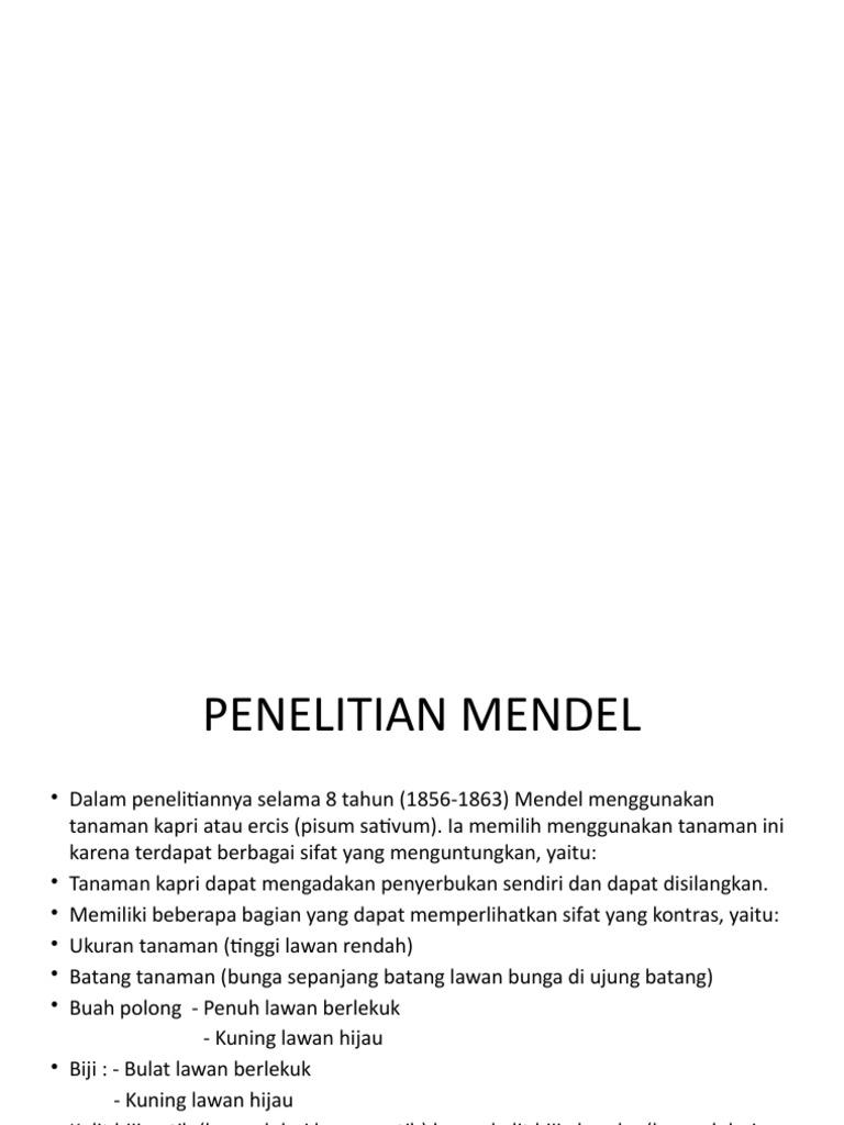 Hukum mendel i dan ii ccuart Image collections