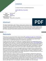 Pure PythonC Accelerator Module Compatibility Requirements