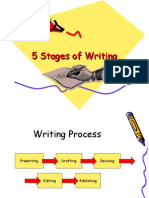 5 Stages of Writing