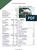 6517 Rosemont - Performance Report