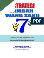 7 Strategi Tambah Wang Saku