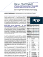 Informe semanal de mercados 25 al 29 de Abril Español