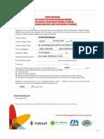 Formulir Pelatihan Wirausaha ZIS Indosat