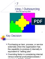 In Sourcing vs Outsourcing