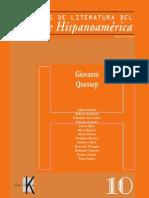 Cuadernos de Literatura Hispanoamericana y Del Caribe Quessep