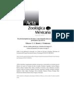Acta Zoologica Mexicana No. Especial 2, Vol. 26
