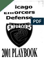 2001 CHI Enforcers 3-4 (XFL)