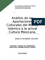 Analisis de Las Aportaciones Islamicas