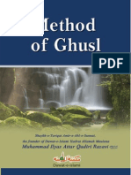 Method of Ghusl