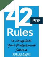 42 Rules Success