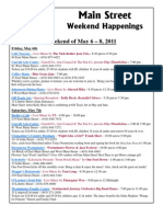 Downtown Westminster Maryland Weekend Happenings - May 6th to 8th 2011