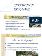 31260614 Ppt on Earthquake 1