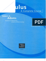 Calculus - A Complete Course