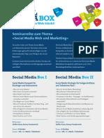 Social Media Box Seminare