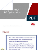 WCDMA RNO RF Optimization