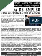 110429 COMUNICADO pérdida de empleo