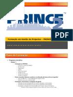 PRINCE2-Plano de Formação