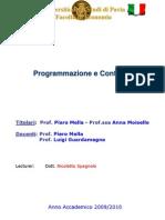 1 Slides Programmazione e Controllo