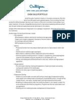 Culligan Chemicals Portfolio