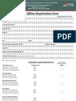 Registration Form Criticare 2011